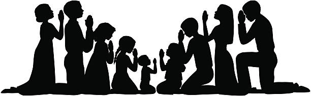 612x189 Group Of People Praying Clipart