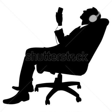 380x380 Person Listening Clipart