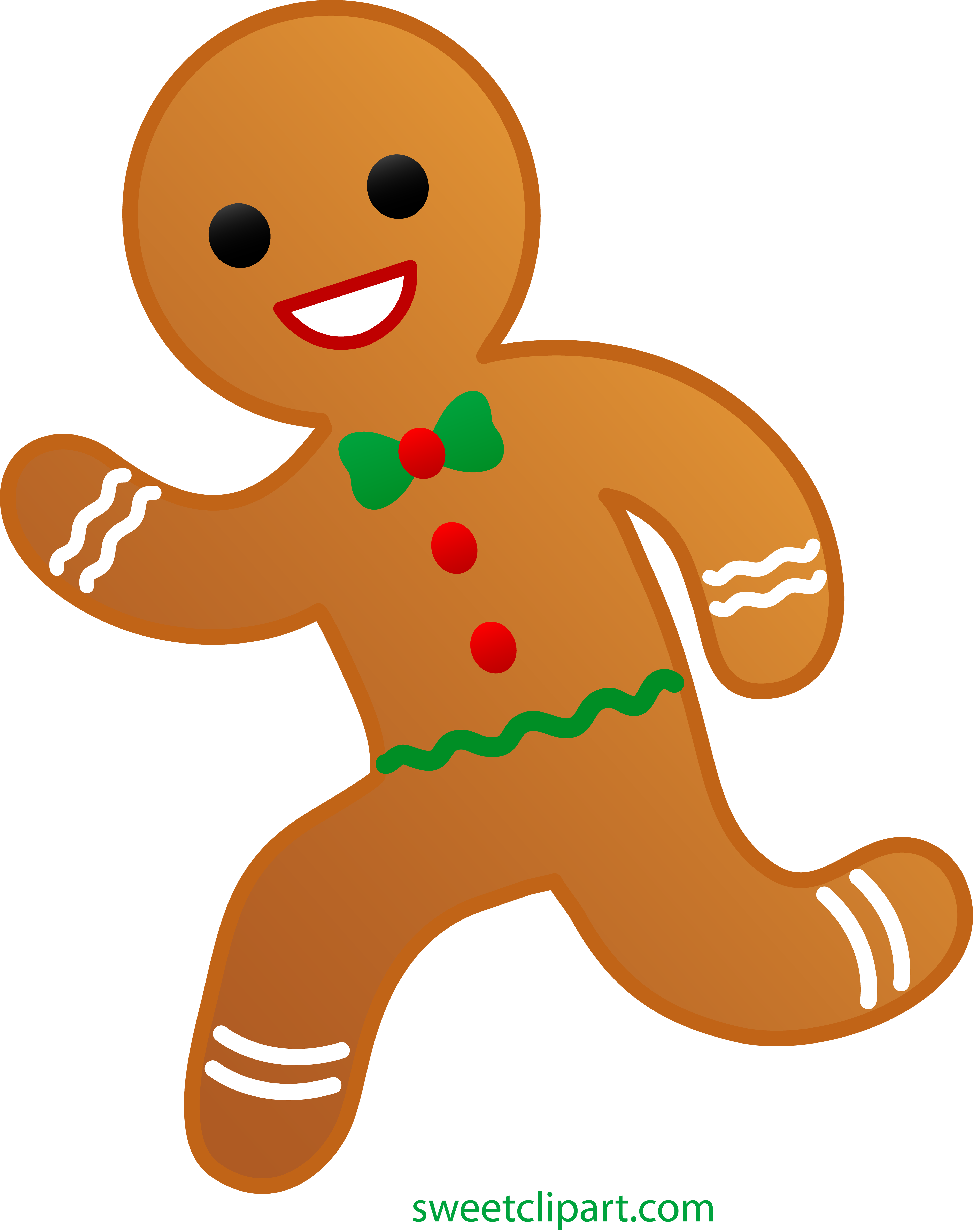 4739x6000 Gingerbread People Clipart