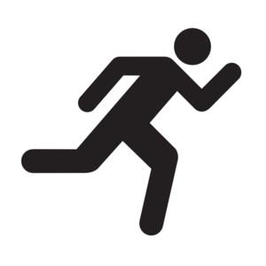 300x300 Man Clipart Running Away