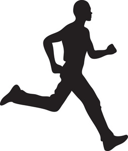 254x300 Running Man Pictures Clip Art