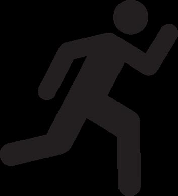 353x389 Running Stick Man Group