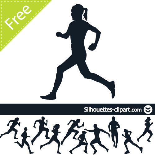 People Running Images