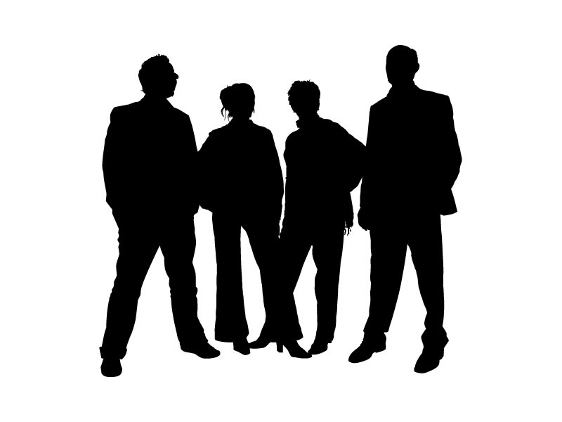 800x600 People Clipart Silhouette