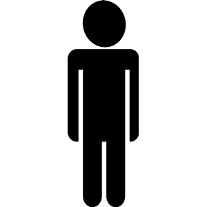 300x300 Person Silhouette Clip Art Free Clipart Images 2