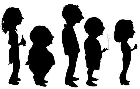 550x350 Silhouette Clip Art Free People Silhouette Clipart Gallery
