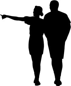 234x284 Silhouette People