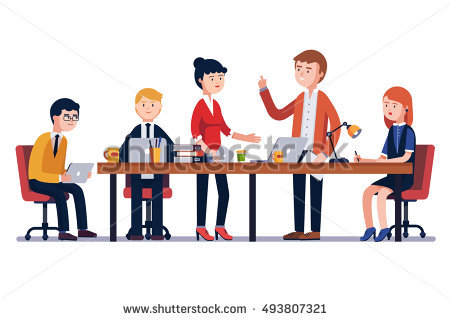 450x320 Table Clipart Person