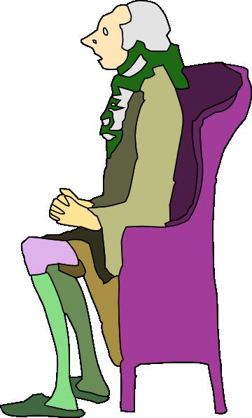 360x596 Cartoon Man Sitting Clipart