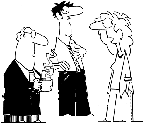 495x450 Cartoon Of People Talking