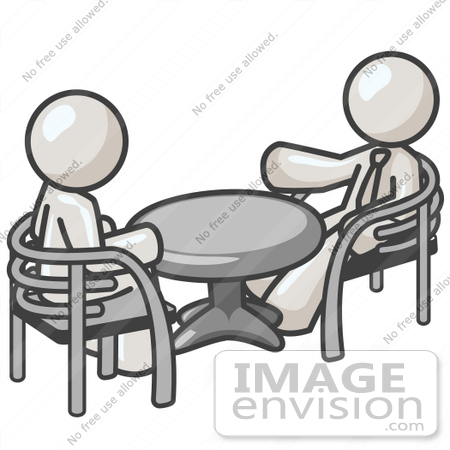 450x450 Clip Art Graphic Of White Guy Characters Talking