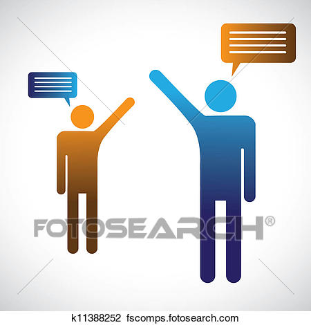 450x470 Clip Art Of Silhouettes Of Two People Standing K25427479