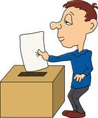 142x170 Clipart Of Choose People In Selection Election Vote Boxes K4608991