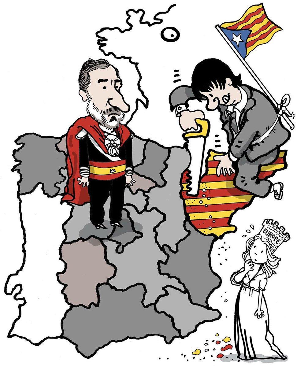 971x1200 Plantu On Twitter Espagne La Catalogne Vote Pour Son Avenir
