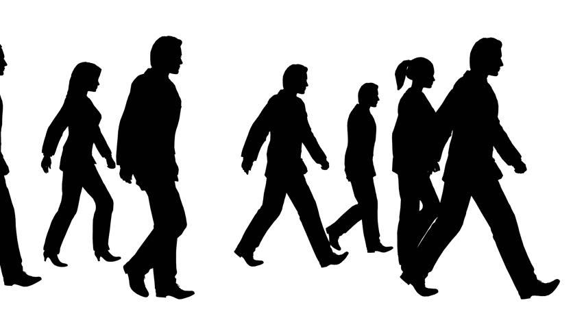 852x480 People Walking Stock Footage Video 182542 Shutterstock