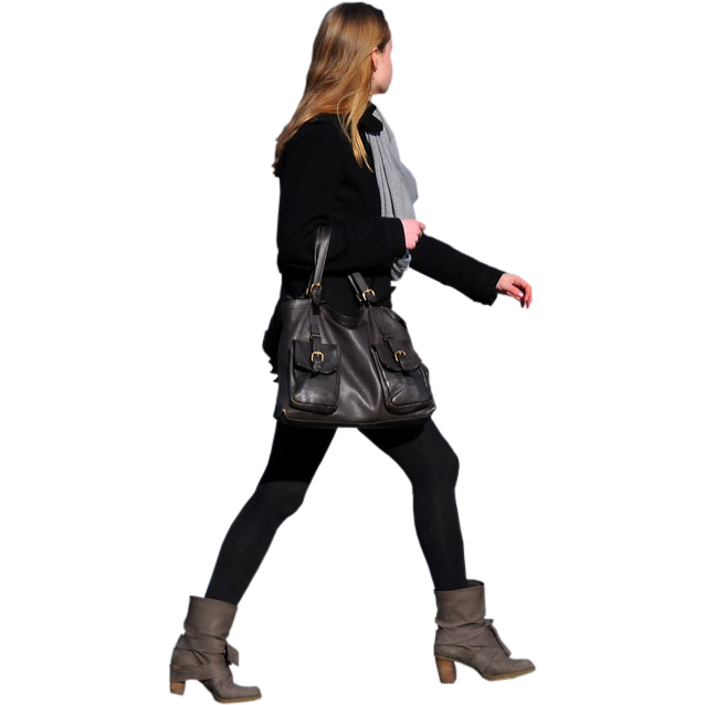 638x638 Walking People