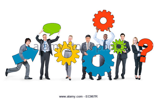 640x404 People Business Teamwork Gears Collaboration Stock Photos Amp People