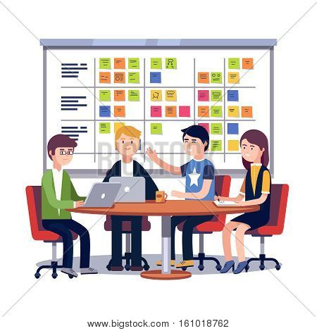 450x470 Team Working Together On Big Vector Amp Photo Bigstock