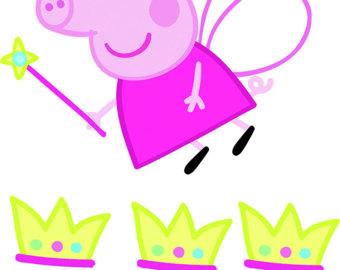 340x270 Crown Clipart Peppa Pig
