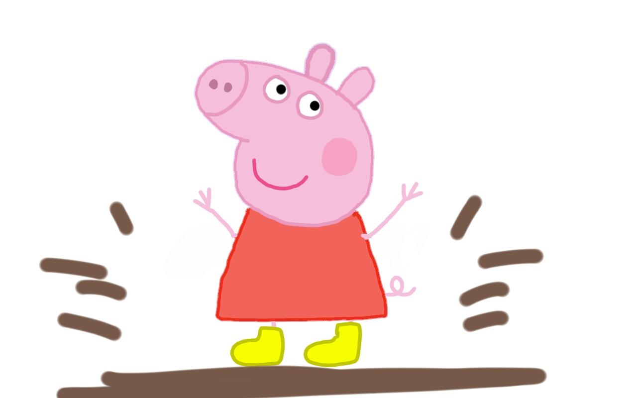 1280x800 Mud Clipart Peppa Pig