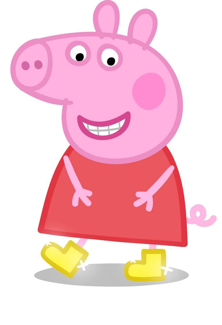 767x1123 Peppa Pig Clipart