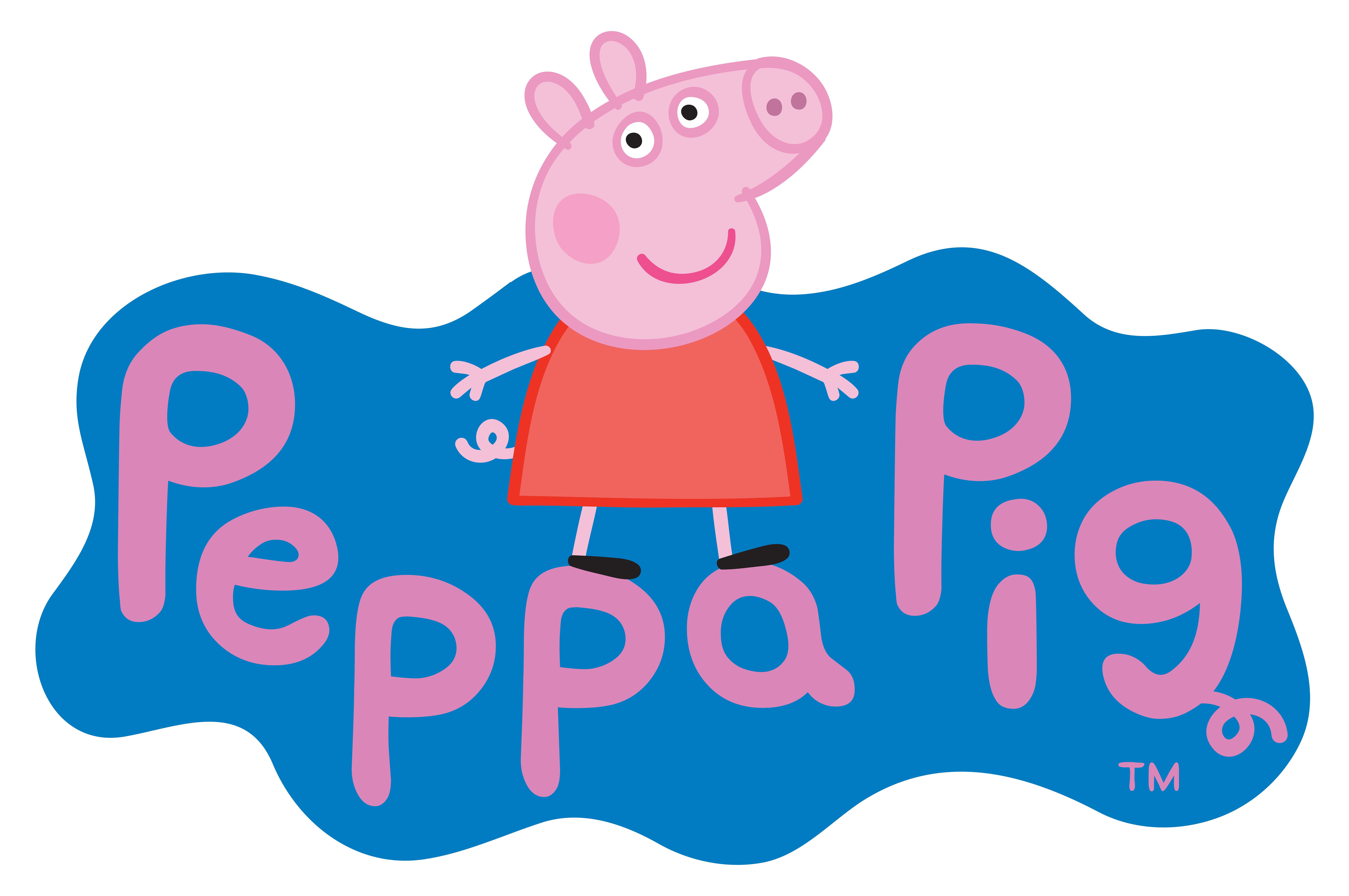 8000x5316 Peppa Pig Logo Transparent Png Clip Art Imageu200b Gallery