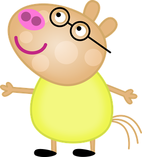 286x316 Peppa Pig And Her Family Clipart. Is It For Parties Is It Free