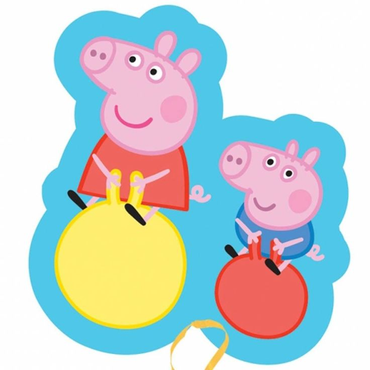 736x736 Balloon Clipart Peppa Pig