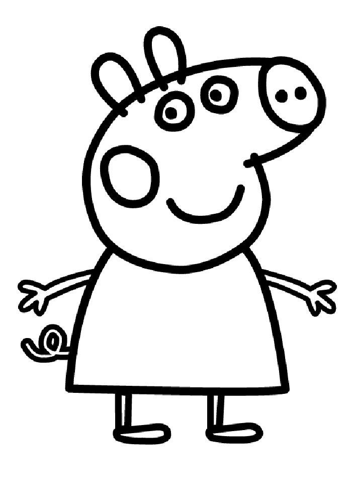 700x990 Kids N 20 Coloring Pages Of Peppa Pig