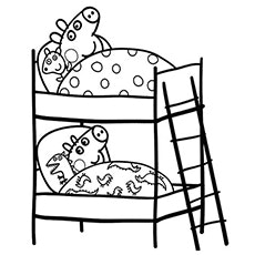 230x230 Peppa Pig Coloring Pages The And George Screnshoots Marvelous