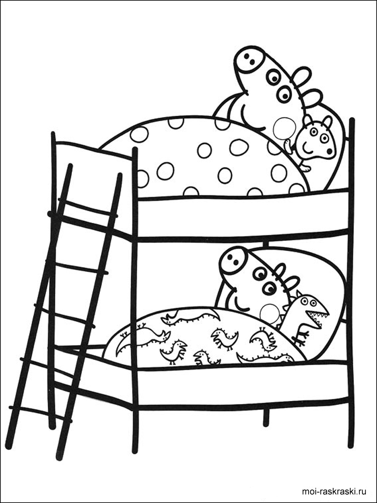 750x1000 Peppa Pig Coloring Pages. Free Printable Peppa Pig Coloring Pages.