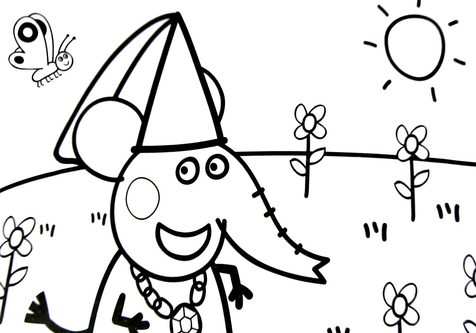 476x333 Pig Coloring Page Image Clipart Images