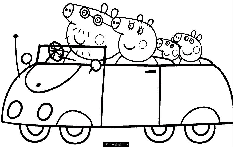 900x567 Sheets Peppa Pig Coloring Pages 11 On Free Kids With