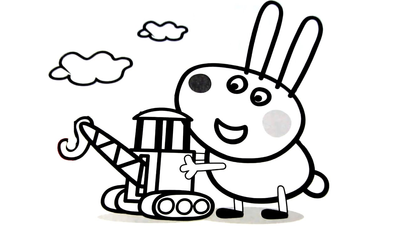 Peppa Pig Coloring Pages Free download best Peppa Pig Coloring