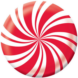 300x300 Paper Gt Paper Shapes Gt Peppermint Circle Die Cut Paper By