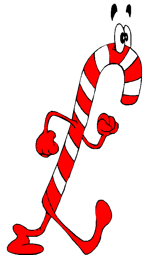 490x840 Candy Cane Clipart Peppermint