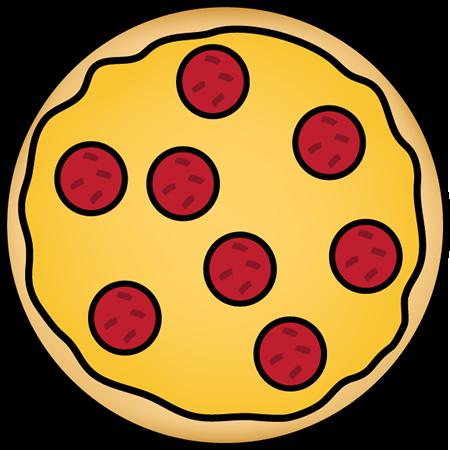 450x450 Pepperoni Pizza Clip Art