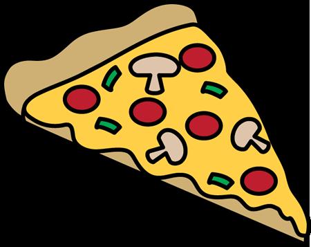 450x357 Pizza Slice Clip Art