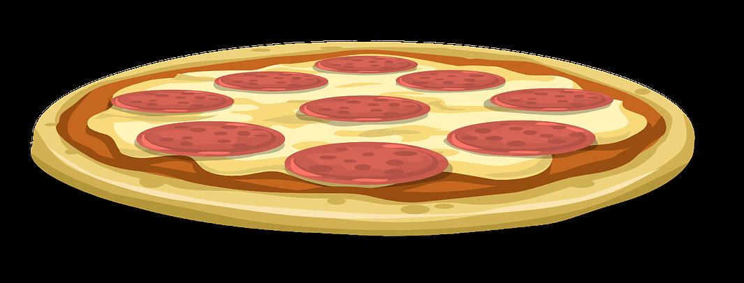 1065x406 Pizza Clipart Pepporoni