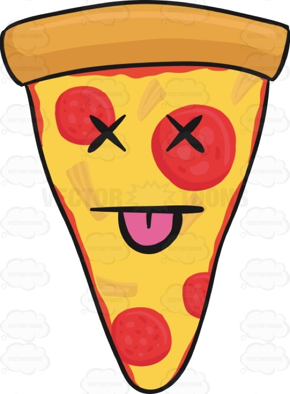 589x800 Knocked Out Slice Of Pepperoni Pizza Emoji Pizza Emoji, Vector