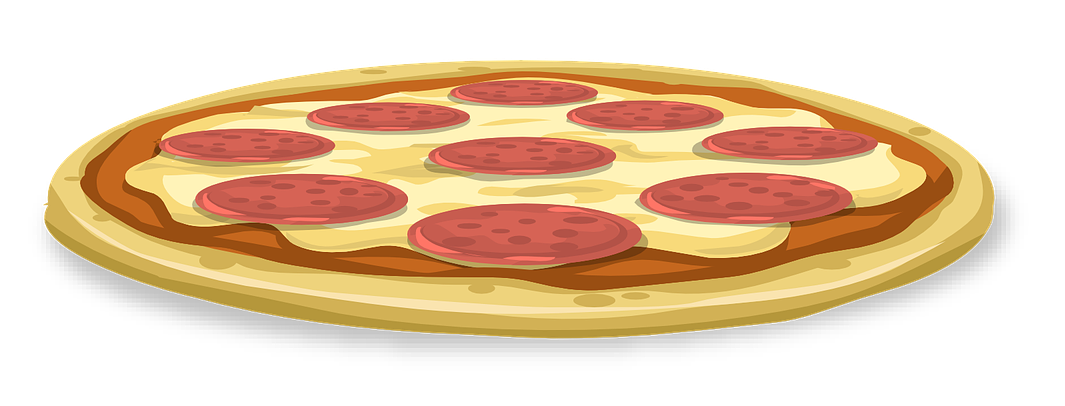 1065x406 Free Whole Pepperoni Pizza Clipart