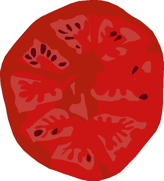 540x596 Tomato Slice Clip Art