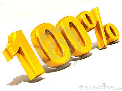 400x300 100 Percent Clipart