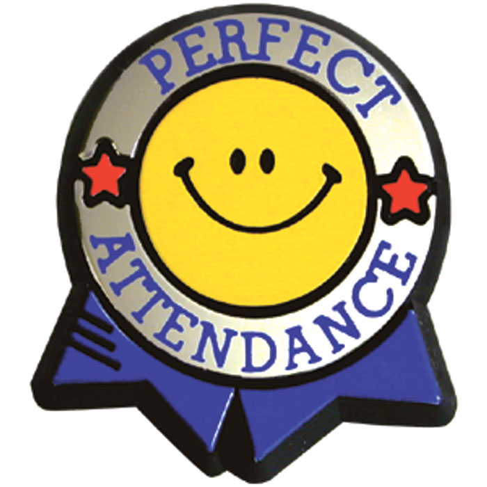 700x700 Perfect Attendance Clip Art 2