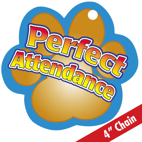 500x500 Trophy Clipart Perfect Attendance