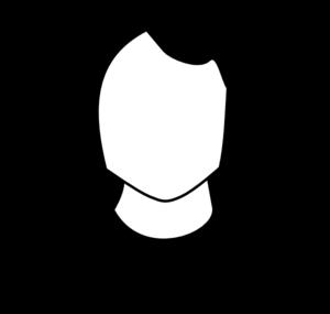300x285 Male Black White Clip Art