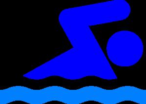 299x213 Person Swimming Clipart