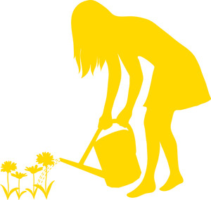 300x284 Gardening Clipart Image