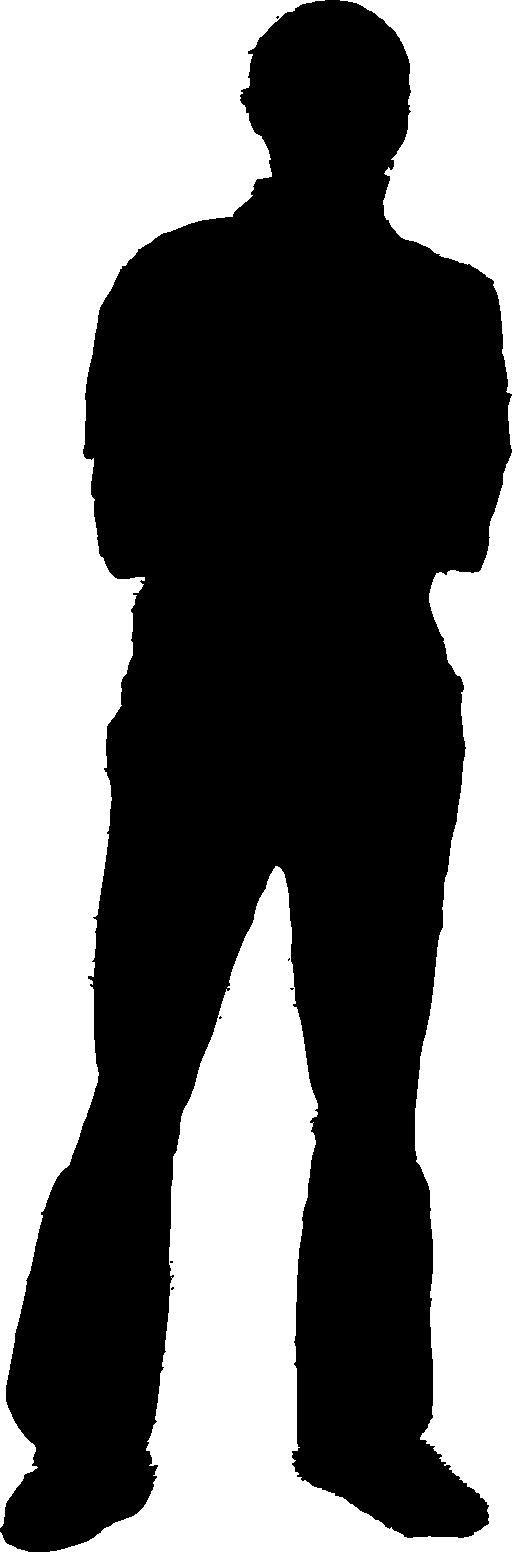 512x1552 Unknown Clipart Person Silhouette