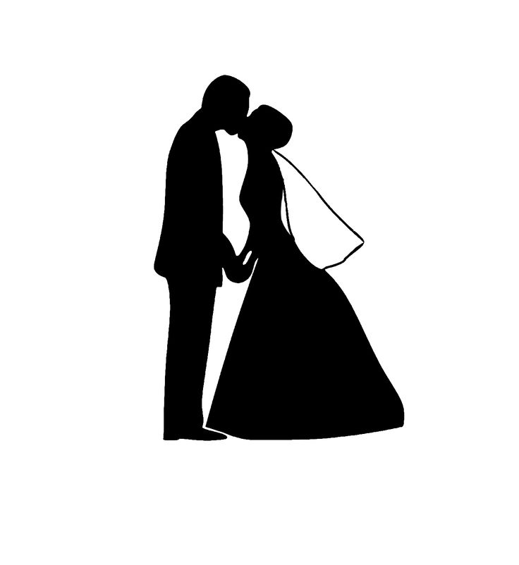 736x802 Wedding Silhouette Clip Art Many Interesting Cliparts